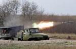 """Бойовики показали, як обстрілюють позиції української армії з """"Градів"""" і """"Гвоздик"""" (Відео)"""